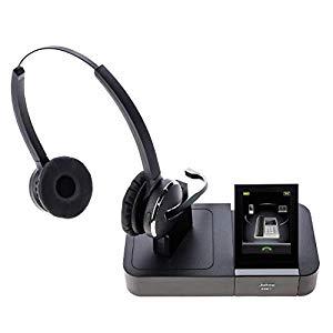 Jabra Pro 9465 Duo professionelles Wireless-DECT-Headset ...